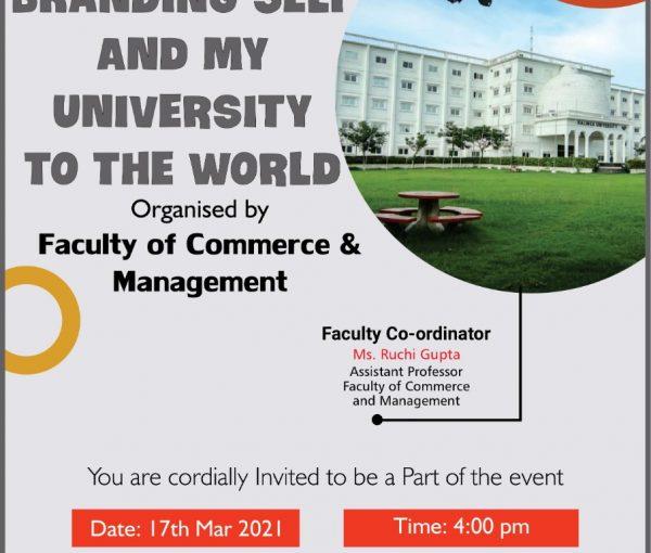 University Self Branding